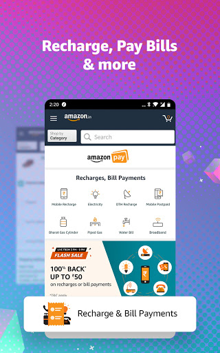 Amazon Shopping, UPI, Money Transfer, Bill Payment 20.18.0.300 Screenshots 3