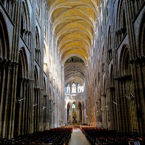 ROUEN CATHEDRAL by Doug Hilson - Buildings & Architecture Places of Worship ( gothic, rouen, france, cathedral, architecture, doug hilson, 12th century,  )