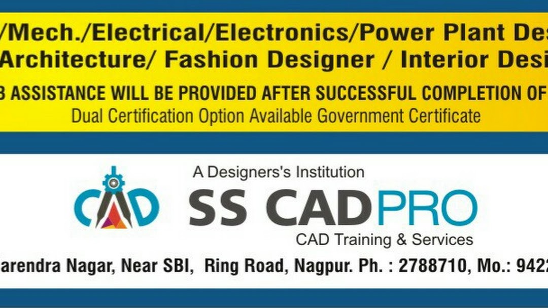 Ss Cadpro Autocad Training Institute Nagpur Cad Software Training Institute In Nagpur