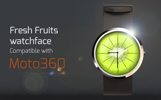 Fresh Fruits Watchface