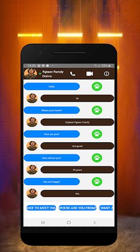 Video Call Fgteev Family In Real Life screenshot 2