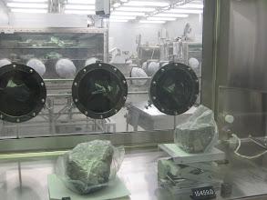Photo: Samples from Apollo 16 and Apollo 15