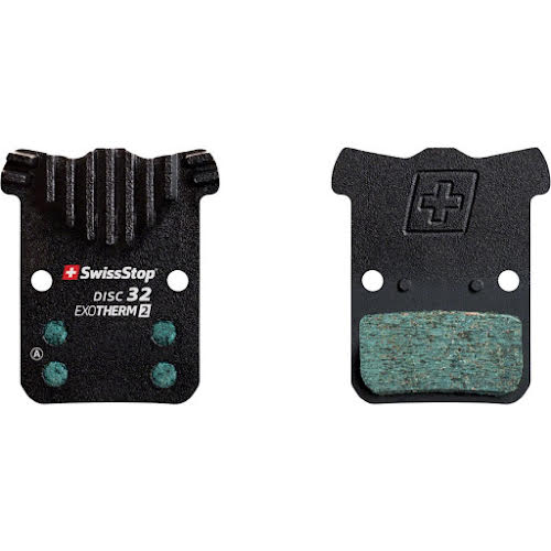 SwissStop EXOTherm2 Disc Brake Pad Set, Disc 32: for SRAM Road and Level Ultimate/TLM