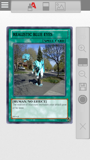 Yugioh Card Maker 1.2.3 screenshots 4