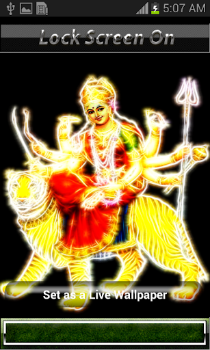 Led Durga Mata Live Wallpaper
