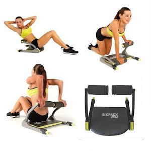 Aparat fitness Six Pack pentru abdomene si tonifiere musculara