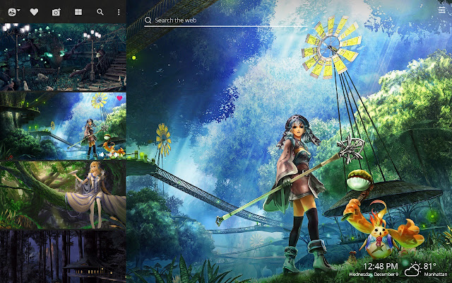 Anime Forest Hd Wallpapers New Tab Theme