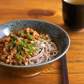 Minced Pork and Shiitake Noodles