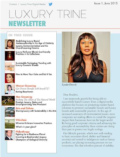 玩免費新聞APP|下載Luxury Trine Newsletter app不用錢|硬是要APP