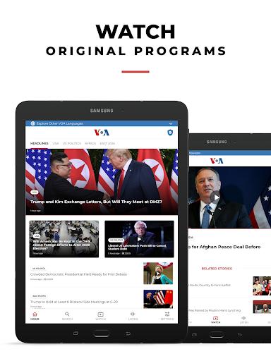VOA News 4.1.5 Screenshots 9