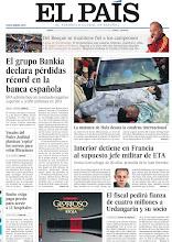 Photo: El grupo Bankia declara pérdidas récord en la banca española, la matanza de Hula desata la condena internacional, Interior detiene en Francia al supuesto jefe militar de ETA y el fiscal pedirá fianza de cuatro millones a Urdangarin y su socio, en nuestra portada del lunes, 28 de mayo de 2012 http://srv00.epimg.net/pdf/elpais/1aPagina/2012/05/ep-20120528.pdf