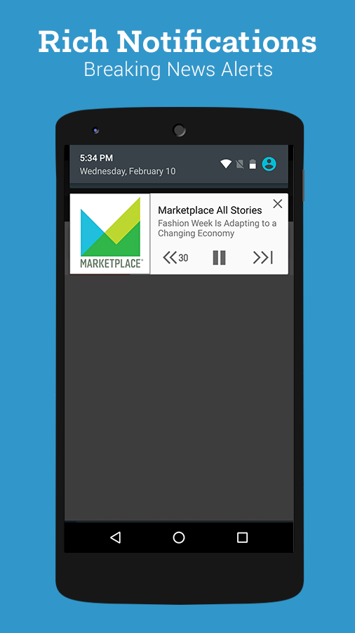 Stitcher Radio – Capture d'écran