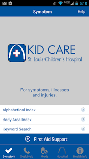 Kid Care-St. Louis Children's- screenshot thumbnail