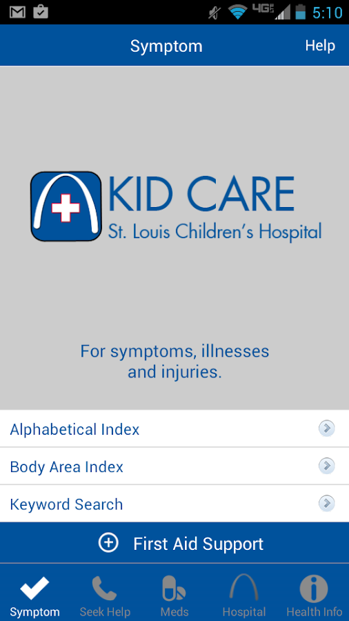 Kid Care-St. Louis Children's- screenshot