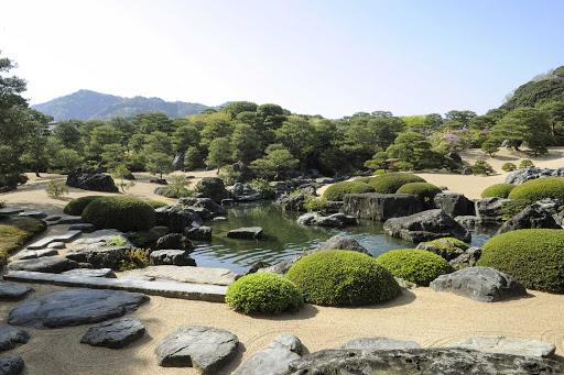 "Ponant-Japan-Adashi.jpg - Adachi Kenko created the gardens of the Adachi Museum of Art in the hopes that visitors would be ""moved by beauty."" It's in Yasugi, Japan."