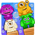 Block Angry Monsters - free colorful puzzle game icon