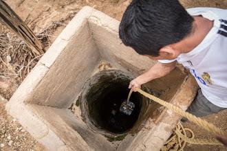 Photo: El agua al final del pozo - comunidad de Caciporchi - Uribia