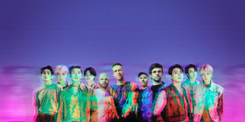 Coldplay-BTS