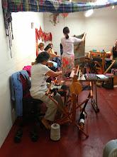 Photo: SAORI kai ( sharing) at a santa cruz gallery