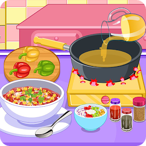 Vegetarian chili cooking game for PC and MAC