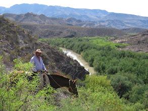 Photo: Lajitas Stables Horseback Riding along the Rio Grande river.