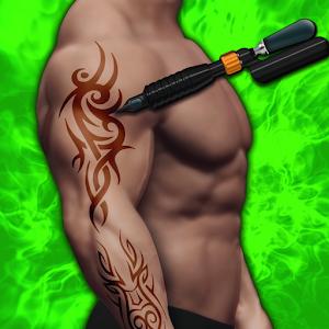 Celebrity Tattoo Design Studio : 3D Tattoo Sim