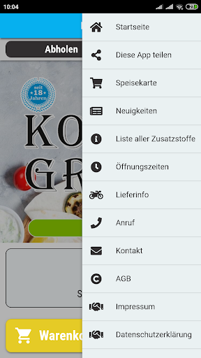Korfu Grill screenshot 3