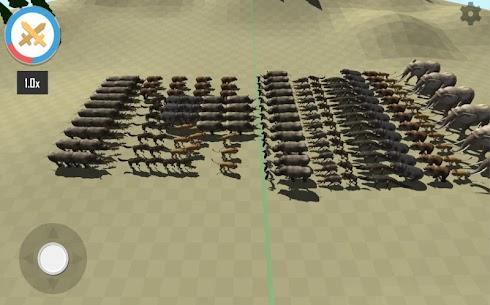 Animal Epic Battle Simulator MOD (Unlock All Levels) 3