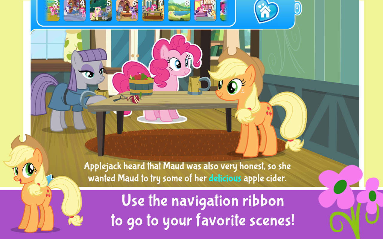 My Little Pony Pinkie's Sister- screenshot
