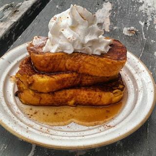 Dreamy Pumpkin French Toast!