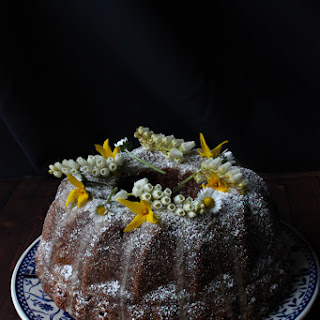 Carrot cake with dates, sultanas and an orange – sugar glaze (Gluten-free and Dairy-free).