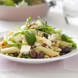 Pasta Salad with Feta, Olives and Roasted Red Peppers Recipe