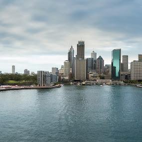 Sydney Panorama by Ivica Bajčić - City,  Street & Park  Skylines ( cityscapes, sydne, australia, operahouse, opera, travel )