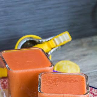 Mango Strawberry Lemon Smoothie