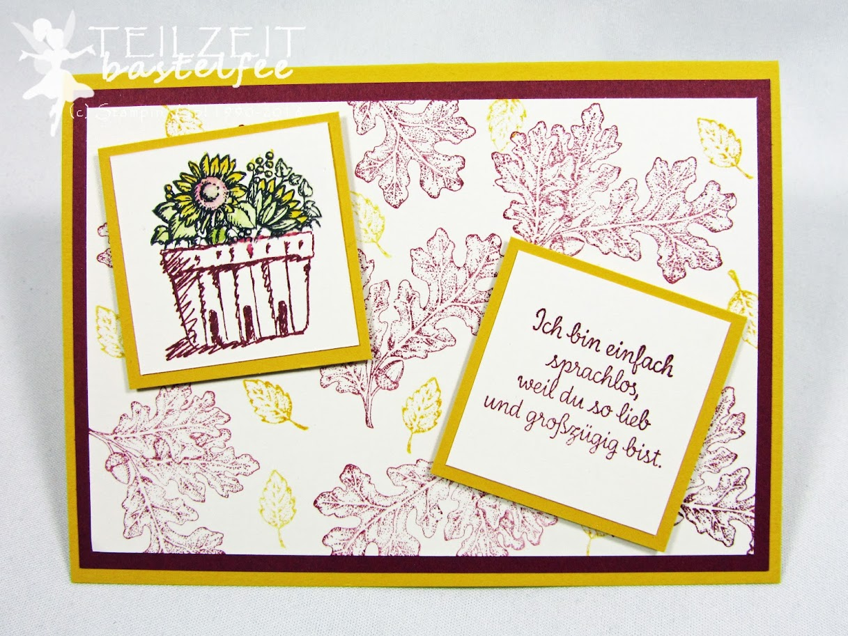 Stampin' Up! - Inkspire_me, Fall, Herbst, Lovely as a Tree, Thankful Thoughts, Zum Dank, Basket full of Wishes