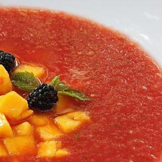 Watermelon Cantaloupe Soup Recipes
