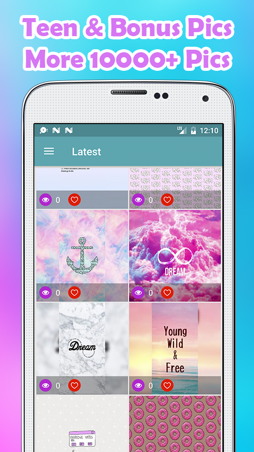 Teen Wallpapers MX- screenshot