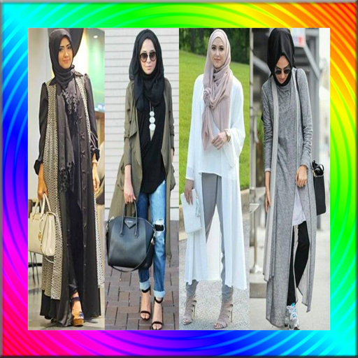Modern Hijab Fashion Style