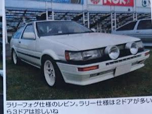 カローラレビン AE86 S62年 GT-APEXのカスタム事例画像 ae86kiwamiさんの2019年01月22日12:01の投稿