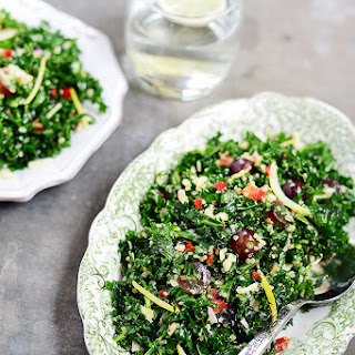 Shredded Kale & Quinoa Salad