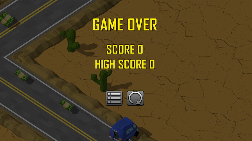 android ZigZag Car Challenge Screenshot 3