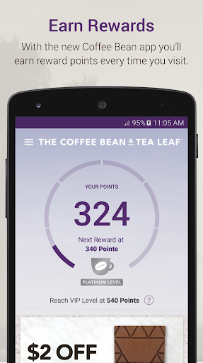 The Coffee Bean® Rewards screenshot