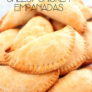 Cream Cheese Chicken Empanadas.