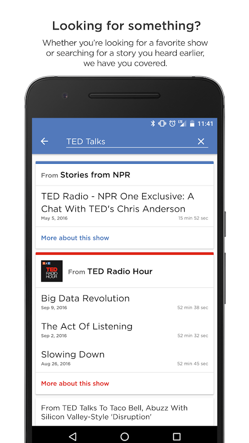 NPR One- screenshot