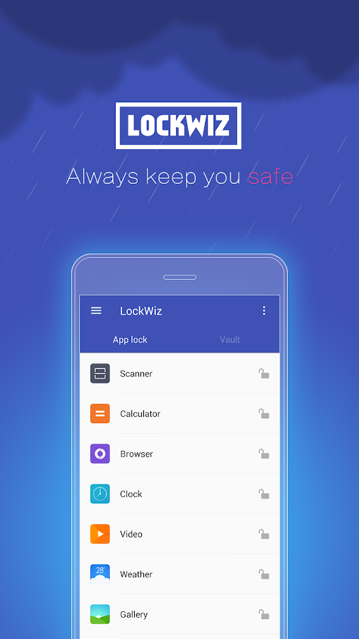 Toolwiz AppLock (Open Source)- screenshot
