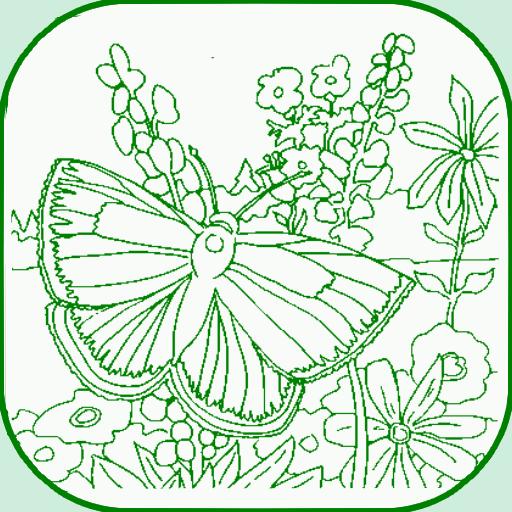 Butterfly Coloring 遊戲 App LOGO-硬是要APP
