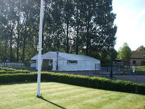 """Photo: Geitenkeuring voor certificaatwaardige geiten.  Zaterdag 7 juli 2012 te Zuidland. Geitenfokvereniging """"Voorne/Putten eo."""""""