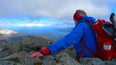 Photo: Frå toppen av Eitrenipa