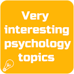Very interesting psychology topics Icon