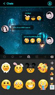 Download Neon Blue Keyboard Theme For PC Windows and Mac apk screenshot 3
